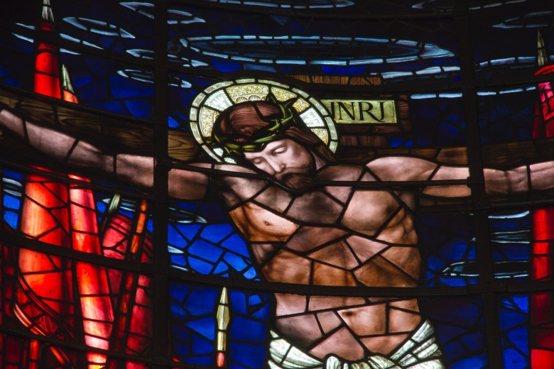 Close Up of Christ Crucified