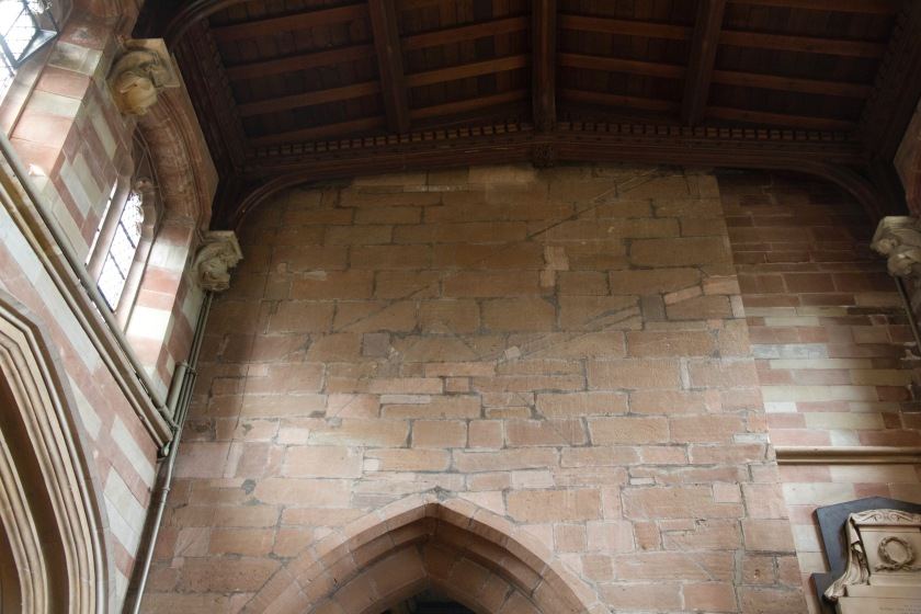Edgbaston Old Church, church, Christianity, Birmingham medieval wall, church interiors