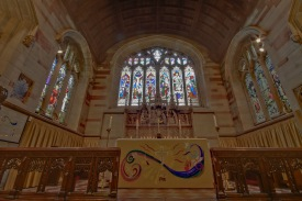The altar at Edgbaston Old Church.