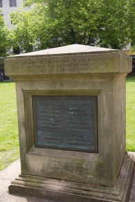 Civic memorial to the 29 fatally wounded victims of the Birmingham Pub Bombings in 1974. It stands in the Cathedral grounds