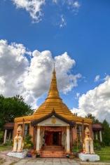 The entrance to Ladywood Pagoda.