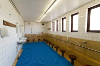 Washing room at Birmingham Central Mosque