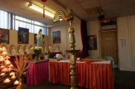 Shrine in the Ladywood Pagoda.