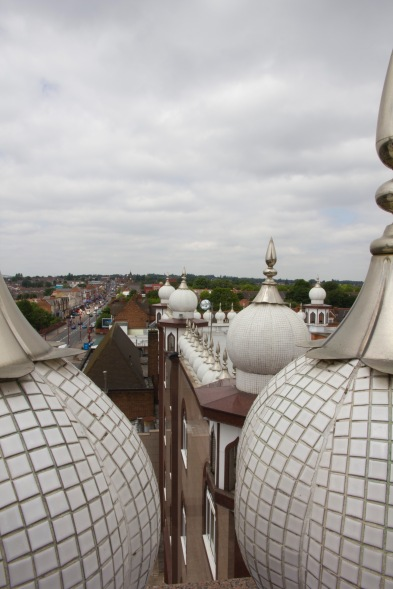 Looking our over Handsworth from Soho Road Gudwara.