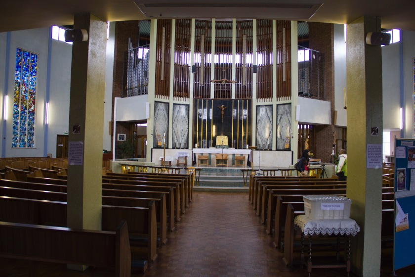 View Down the Chancel to the Altar