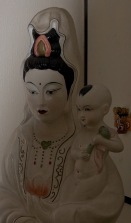 Female Buddha with child in the Ladywood Pagoda