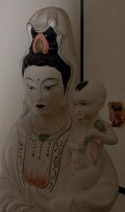Female Buddha with child in the Ladywood Pagoda